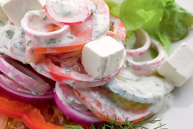 """""""Бахор"""" или весенний салат"""