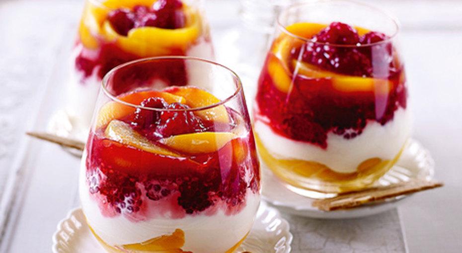 Десерты изягод ифруктов