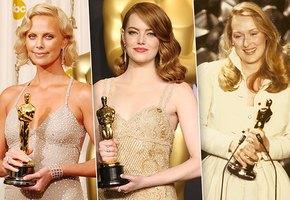 Звездное великолепие: 25 лучших платьев актрис на вручении