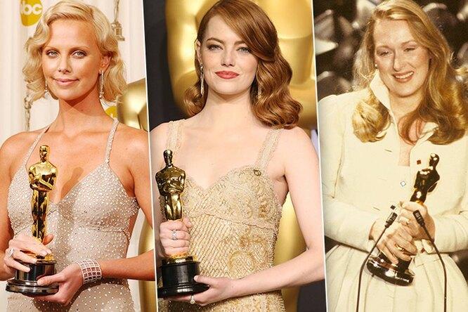 Звездное великолепие: 25 лучших платьев актрис навручении «Оскара»