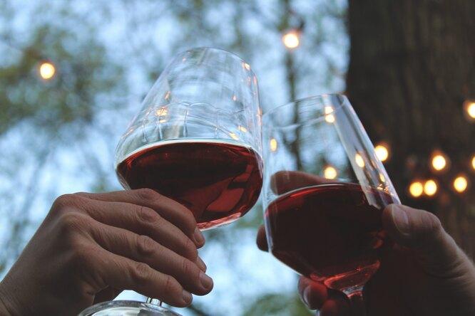 Фото: unsplash. Красное вино