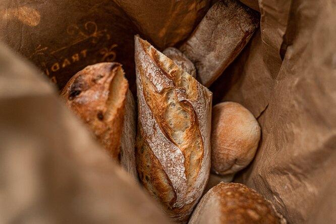 хлеб, багет