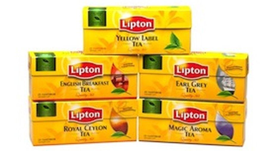Новые вкусы черного чая Lipton