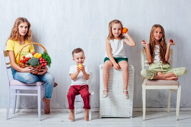 5 советов, как научить ребенка питаться правильно исбалансированно