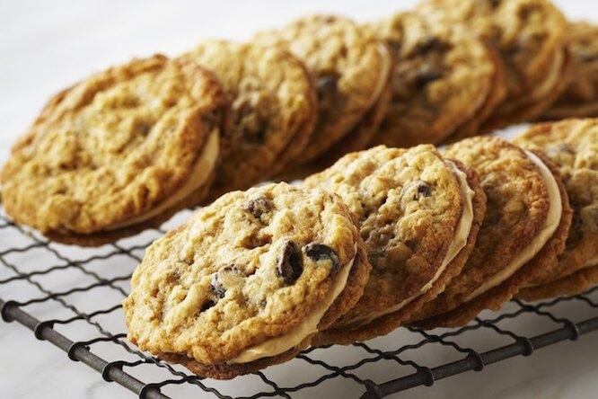 Классическое печенье с шоколадной крошкой