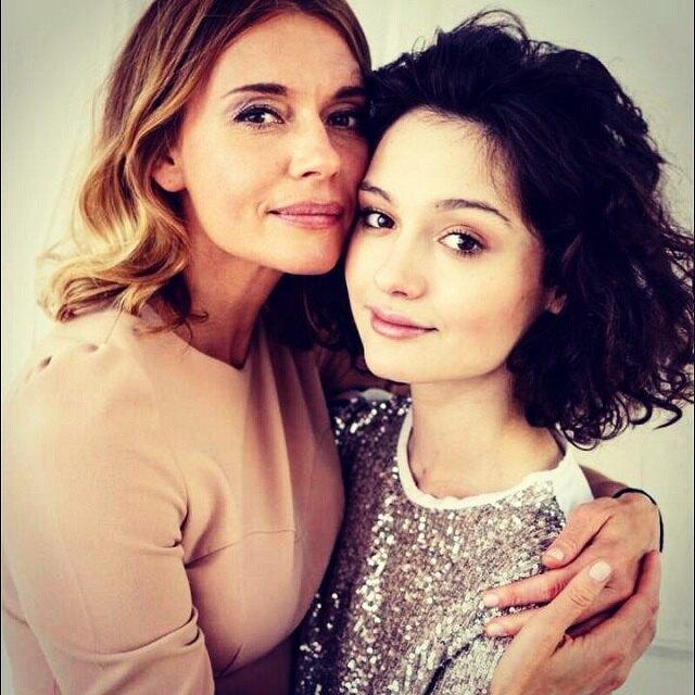 Любовь Толкалина и ее дочь Мария