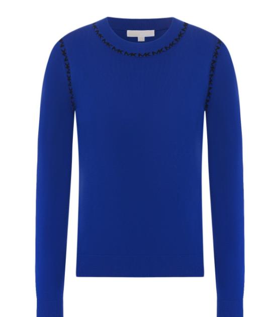 Пуловер из вискозы, Michael Kors, 10 900 руб