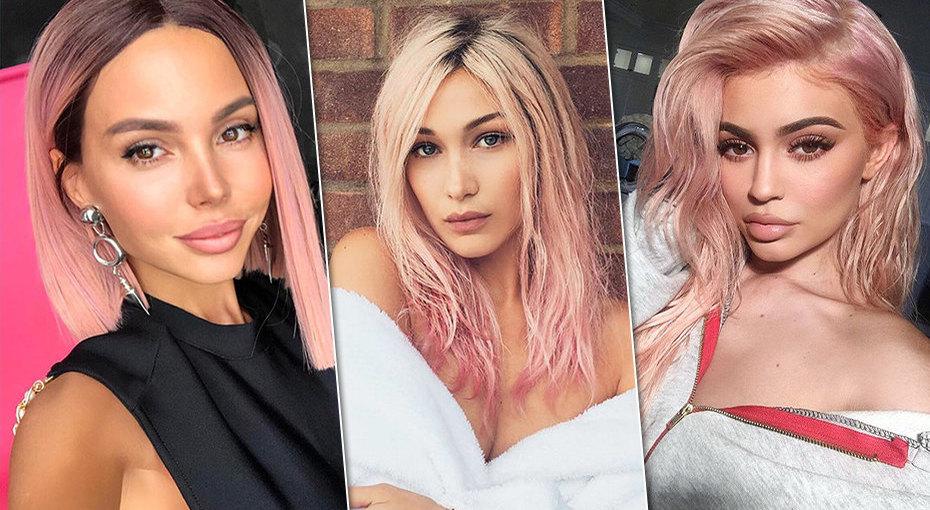 Тренды весны: 11 звездных примеров, как окрасить волосы врозовый