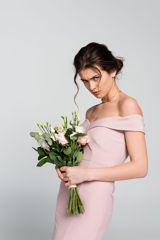 сердитая невеста