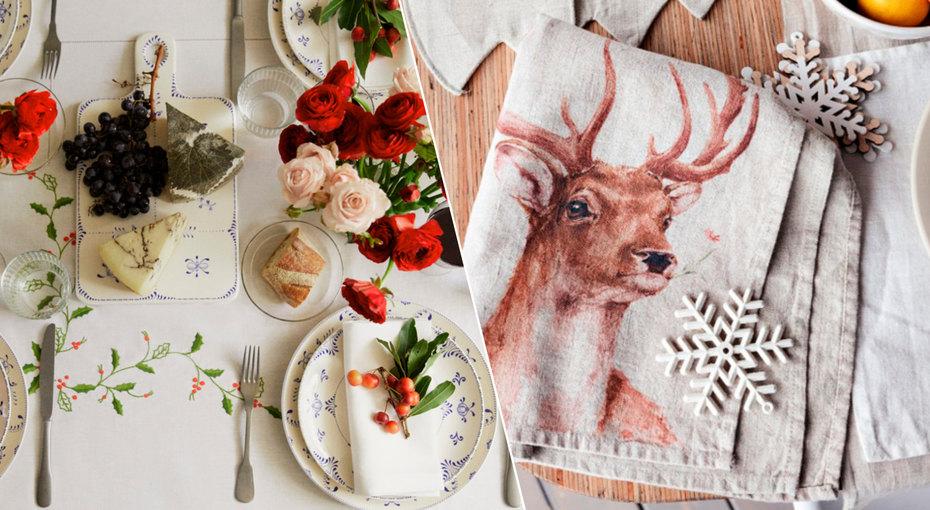 Новогодняя сервировка: 17 очень красивых предметов дляоформления стола