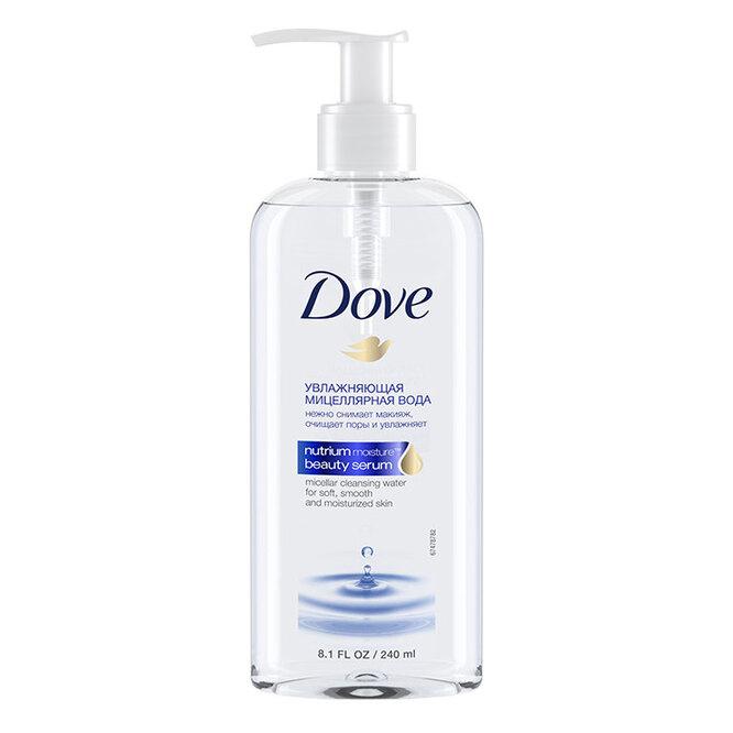 Увлажняющая мицеллярная вода, Dove