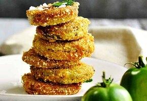 Что можно приготовить с зелеными помидорами?