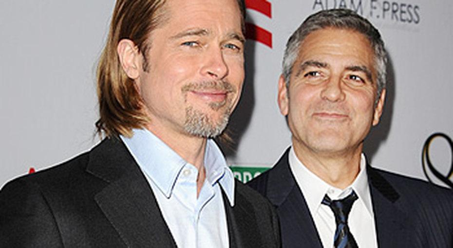 Джордж Клуни зовет вшаферы Брэда Питта