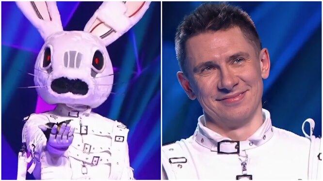 "фото: кадр шоу ""Маска"" на НТВ. Заяц, Тимур Батрудинов"