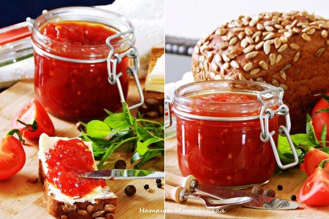 Конфитюр из томатов