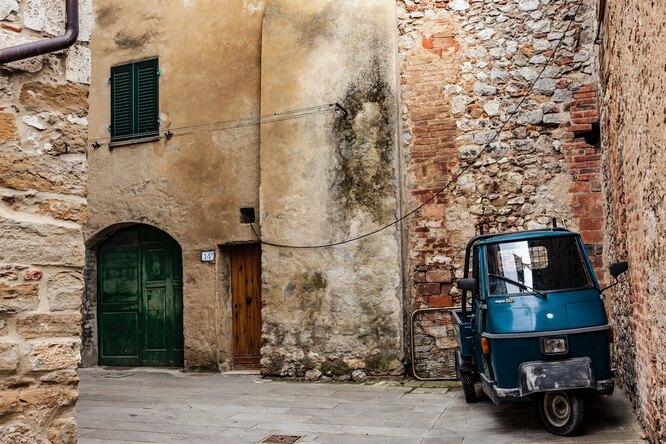 маленький итальянский городок