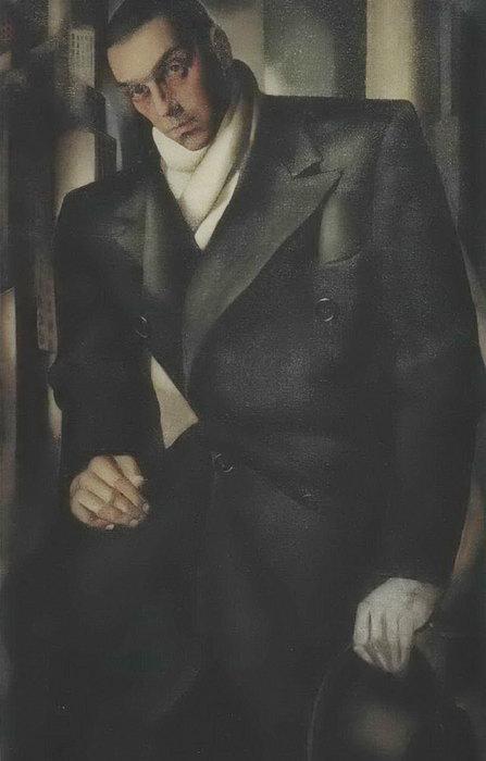 Портрет Тадеуша Лемпицкого, 1928