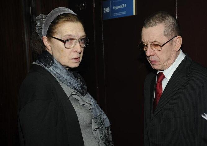 Людмила Абрамова, Валерий Золотухин