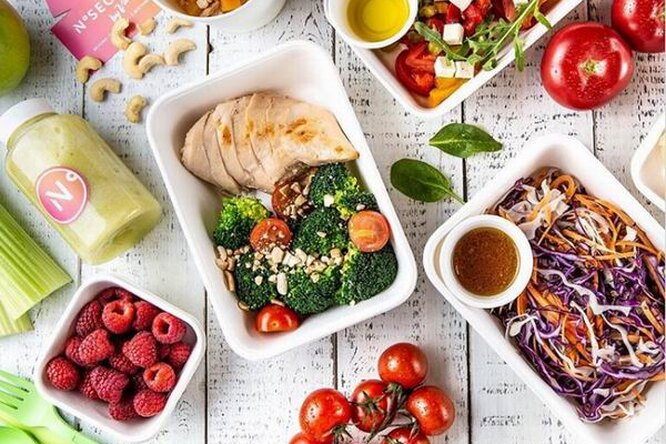 Cекретов нет! Как сервис здорового питания No secret by Valeriya научил меня быть веганом
