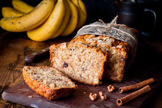 Рецепт бананового хлеба