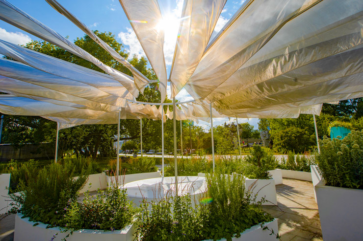 «A-mazing Garden» вМузеоне