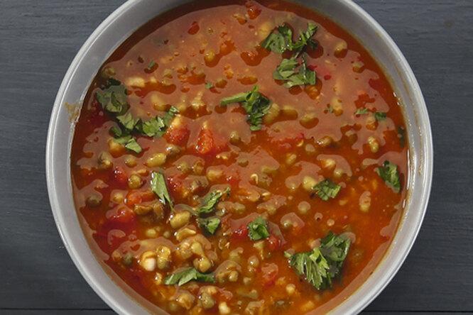 Суп из маша (мунг дал)
