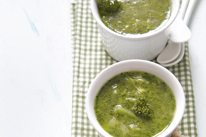 Суп из фасоли и петрушки