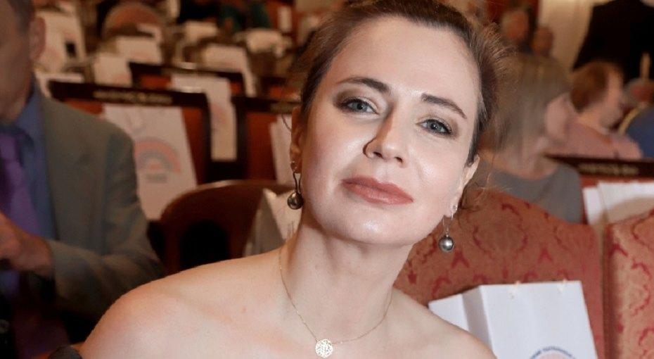 «Очаровательный блондин»: Ксения Лаврова-Глинка выложила фото сполуторагодовалым сыном