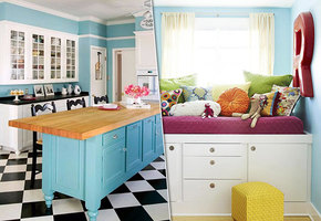 Новая мебель из старых кухонных шкафов: 10 удачных примеров переделки