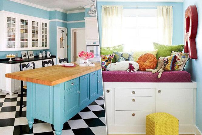 Новая мебель изстарых кухонных шкафов: 10 удачных примеров переделки