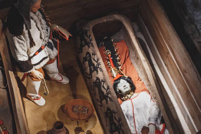 Принцесса Укока: загадка алтайской девушки, найденной вледяном саркофаге