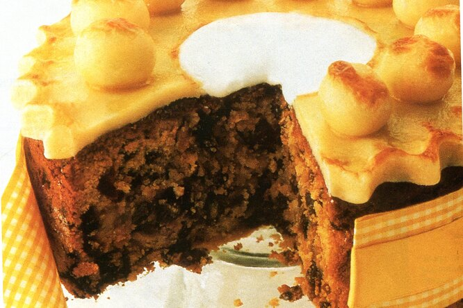 Пирог с марципаном