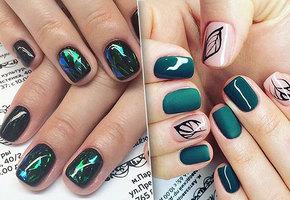 Яркие и крутые идеи маникюра для коротких ногтей