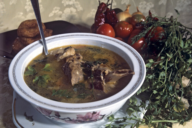 Как приготовить шурпу с бараниной - пошаговый рецепт