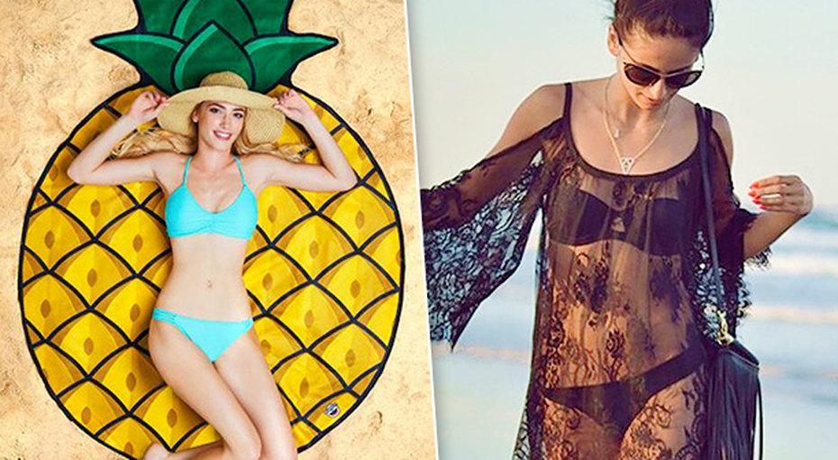 Лето началось: 10 необходимых покупок дляпляжа недороже 500 рублей
