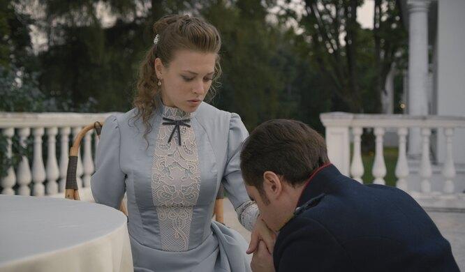 Александра Никифорова. Кадр из сериала «Анна-детективъ»