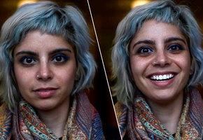 Как выглядят люди в тот момент, когда им говорят, что они красивы