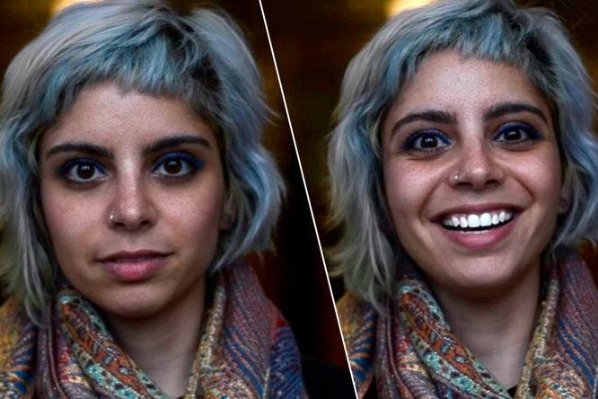 Как выглядят люди втот момент, когда им говорят, что они красивы
