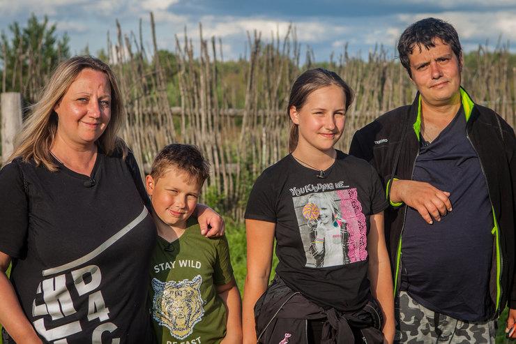 Семья Кистеневых