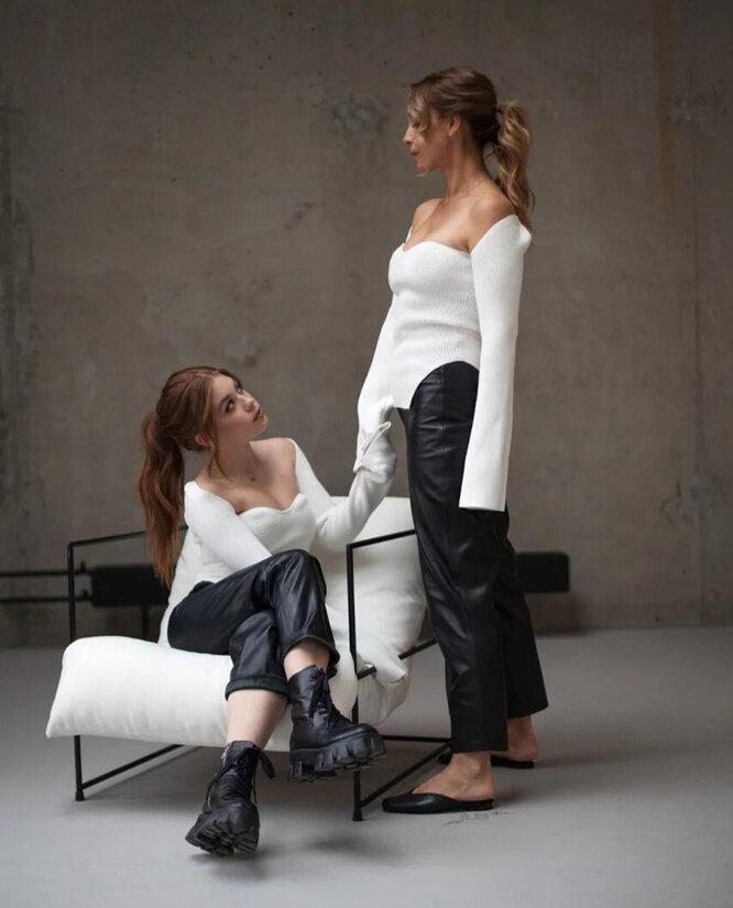 Марина Газманова с дочерью