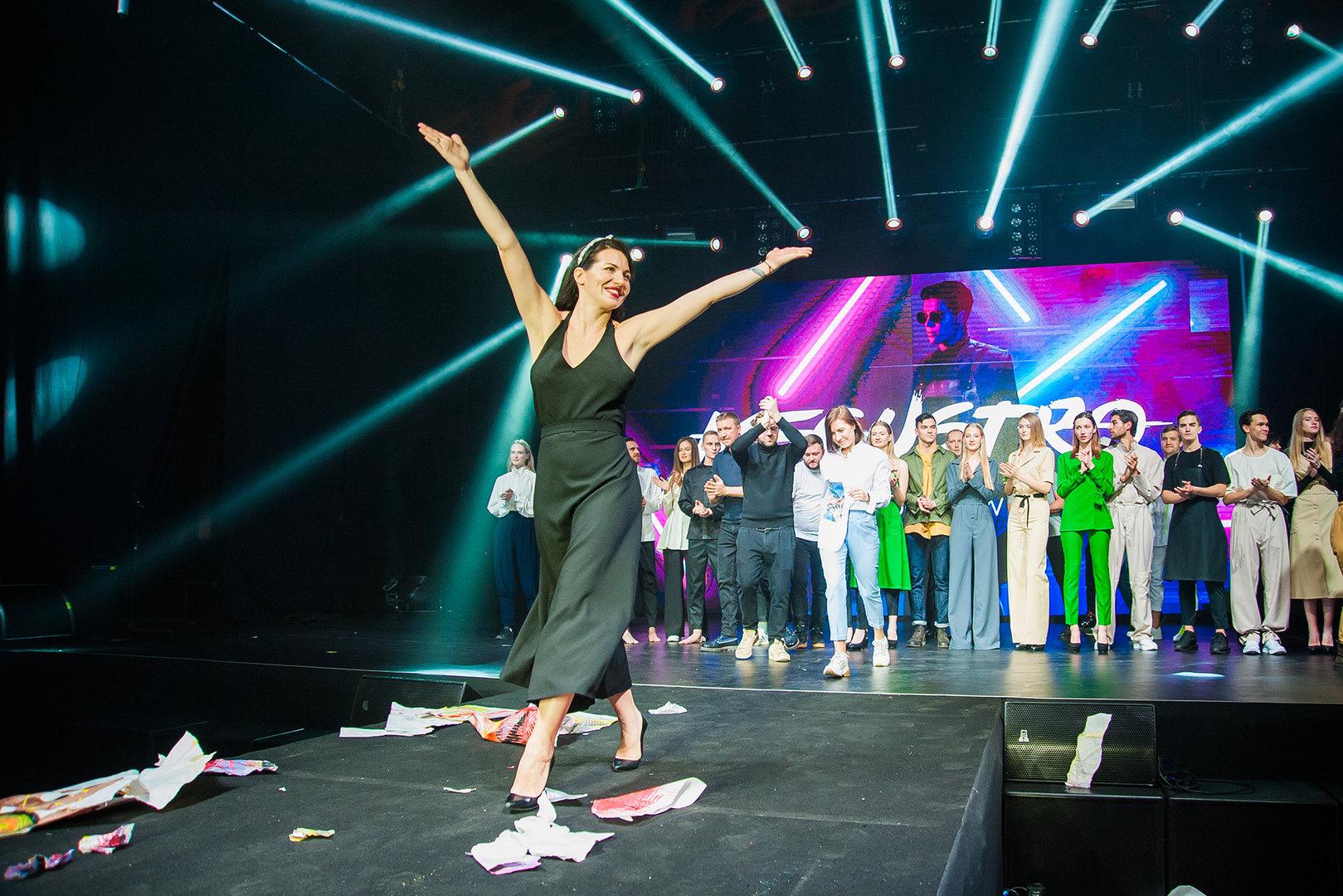 Показ Fashion Show нафестивале Megustro