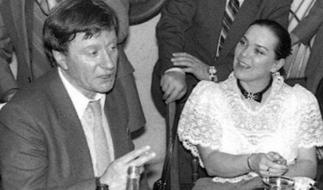 Лариса голубкина и Андрей миронов  фото
