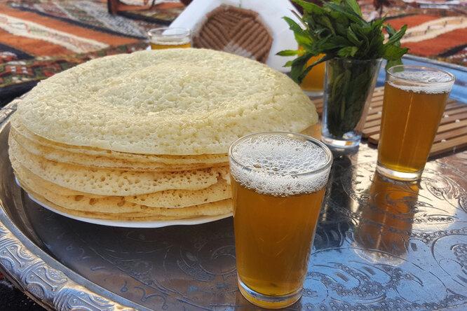 Рецепт блинов с дырочками на пиве