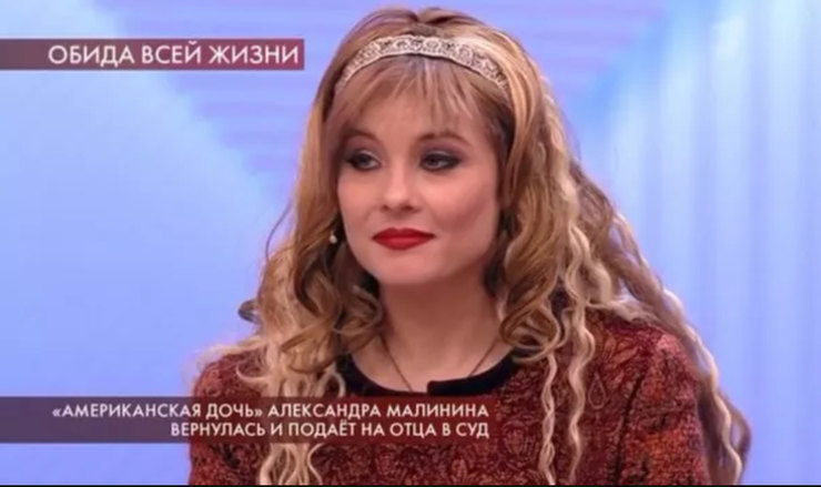 Кира Евдокимова, кадр изтелешоу «Пусть говорят» от25.02.20