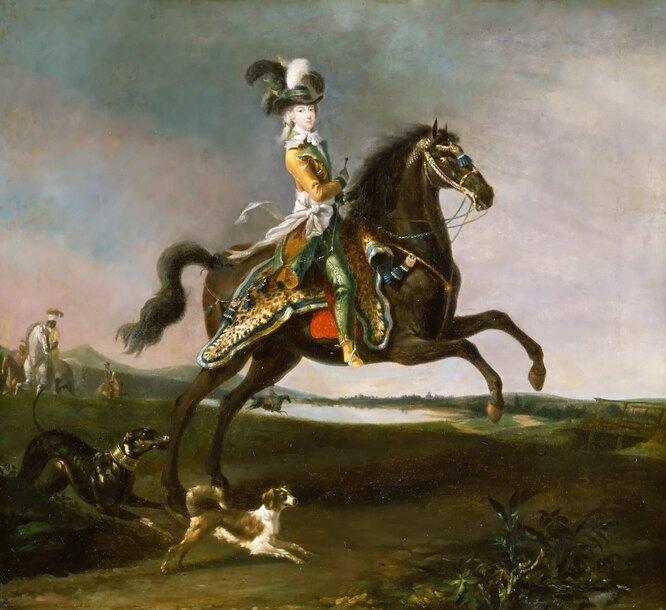 <br />Мария Антуанетта, художник Луи-Огюст Брен де Версуа, Версальский дворец<br />&nbsp;