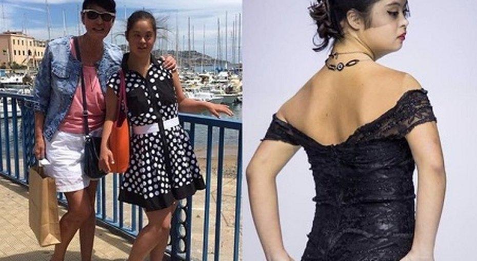 Ирина Хакамада показала фото дочери ссиндромом Дауна всоблазнительном платье