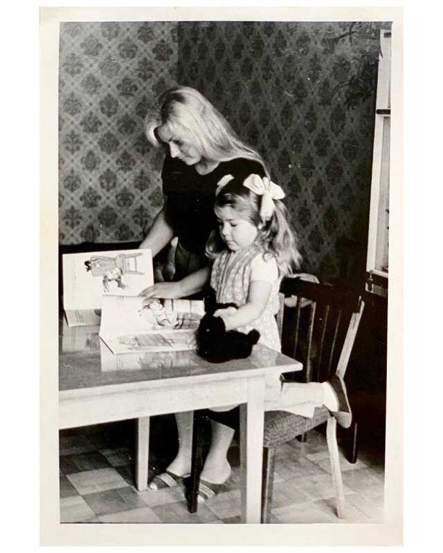 Ева Польна с мамой (архивное фото)