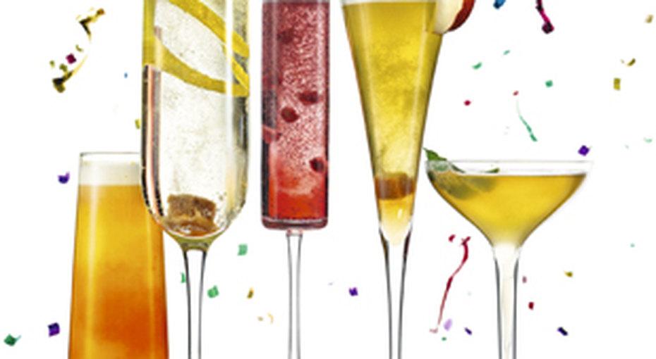 5 коктейлей сигристым вином