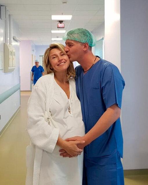 Екатерина Архарова с мужем
