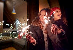 Стать красивой к Новому году